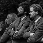 Gerry Adams and Martin Mc Guinness photo Bobbie Hanvey  copy