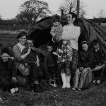 Traveller Family Lisburn early 1970's photo Bobbie Hanvey   copy copy